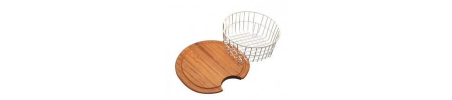 Ofertas en accesorios para fregaderos y cubetas - BlancoGris