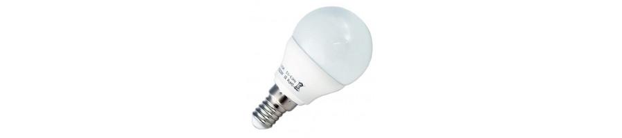 Ofertas en bombillas Led estandar con casquillo E14 y E27 - BlancoGris