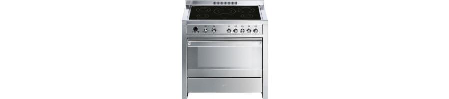 Marcas de calidad en cocinas con encimera de Induccion - BlancoGris