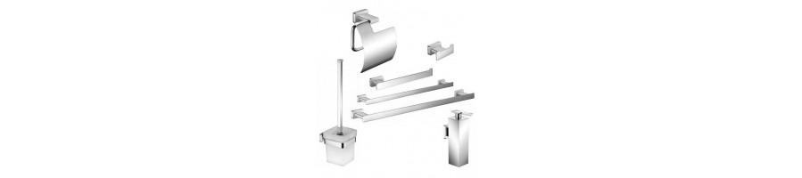 Precios económicos en accesorios para baño y ofertas - BlancoGris