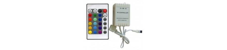 Ofertas en accesorios para la conexion de tiras Led - BlancoGris