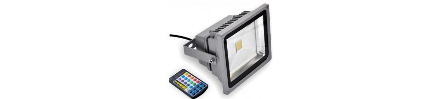 Descuentos en proyector led y foco led para exterior - BlancoGris